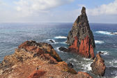 The eastern tip of the island of Madeira — Stock Photo