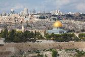 The majestic panorama of Jerusalem — Stock Photo