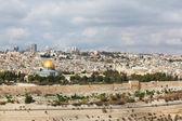 The modern city of ancient Jerusalem. — Stock Photo