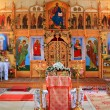 Royalty-Free Stock Photo: Interior rural orthodox christian church