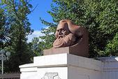 Karl Marks monument — Stock Photo