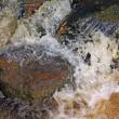 Stock Photo: Quick river flow amongst stone