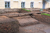 Archeological excavations — Stock Photo