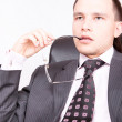 Foto Stock: Businessman