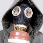 Man wearing a gas mask — Stock Photo #8206651