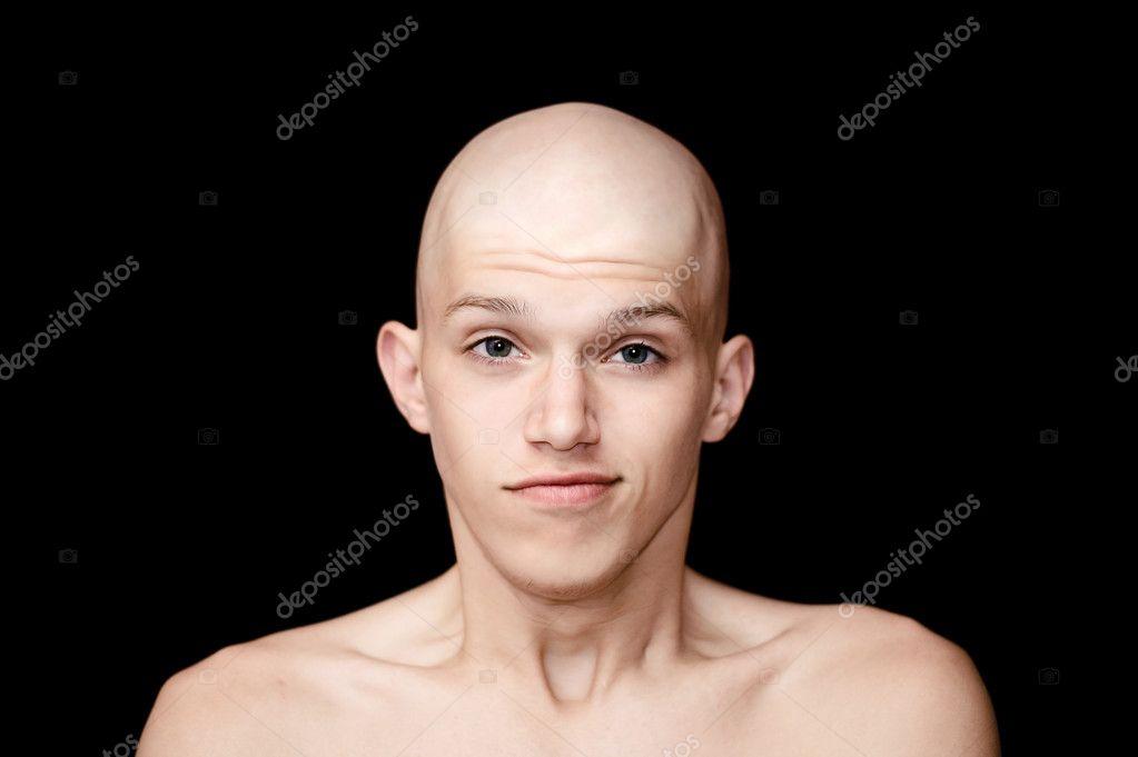 Как сделать лысым человека на