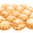 Cookie isolated on white background. — 图库照片