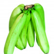 Unripe green bananas — Stock Photo #8215717