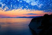Black sea scene — Stock Photo