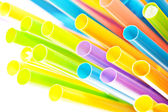Drinking straws — Stock Photo