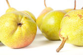 Pears isolated on a white — Stock Photo