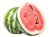 Water melon isolated on white background — Stock Photo