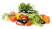Овощи и фрукты — Стоковое фото