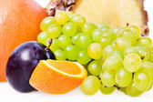 Healthy Eating, isolated on white background. — Stock Photo