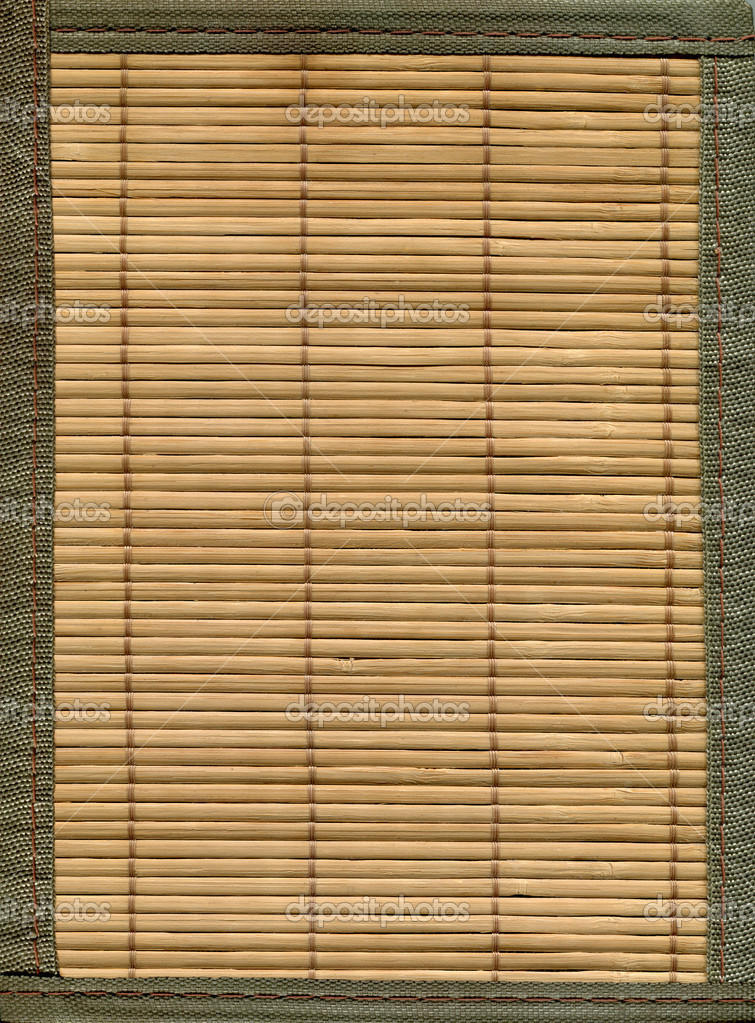 Bamboo fence background — Stock Photo #10690659