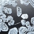 Stock Photo: Salt crystals background