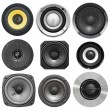Acoustic speaker set — Stock Photo