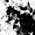 Black spot grunge — Stock Photo