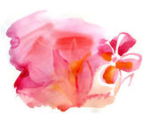 Watercolor blot, beautiful background — Stock Photo