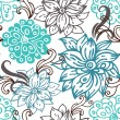 Floral seamless pattern — Stock Vector #10363908