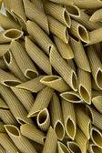 Pasta penne color verde — Foto de Stock