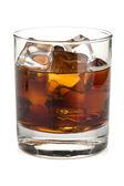 Whiskey cola cocktail — Stock Photo