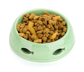Cat food in a bowl — Stock Photo