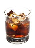 ウイスキー コーラのカクテル — ストック写真