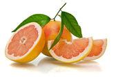 Fatia de laranja — Fotografia Stock