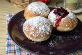 Homemade donuts — Stock Photo