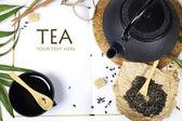 Asya çay seti — Stok fotoğraf