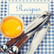 The book of recipes — Stock Photo #8165742