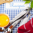 The book of recipes — Stock Photo #8436758
