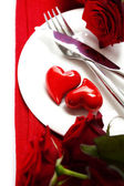 Hearts on a plate — Stock Photo