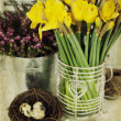 Easter composition — Stock Photo #9331746