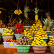 Open air fruit market in the village — Stock Photo #8995542