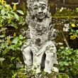 Ancient stone sculpture. - Foto Stock