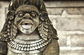 Ancient stone sculpture. — Stock Photo