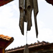 Old Wind chimes - Stock Photo