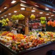 La Boqueria market in Barcelona - Spain — Stock Photo #10596855