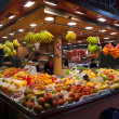 La Boqueria market in Barcelona - Spain — Stock Photo