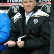 The coach of PAOK Laszlo Boloni — Stock Photo