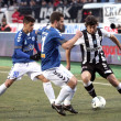 Football match between Paok and Atromitos (1-2) - Stock Photo