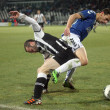 Football match between Paok and Atromitos (1-2) — Stock Photo #8953458