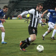 Football match between Paok and Atromitos (1-2) — Stock Photo
