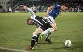 Football match between Paok and Atromitos (1-2) — Stock Photo