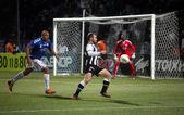 Mecz piłki nożnej pomiędzy Paok i Atromitos (1 - 2) — Zdjęcie stockowe