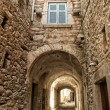 Mesta village of Chios island in Greece — Stock Photo