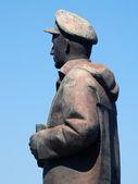 Seaman statue in Chios — Stock Photo