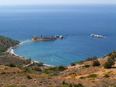 Beautiful beach on the island of Chios — Stock Photo
